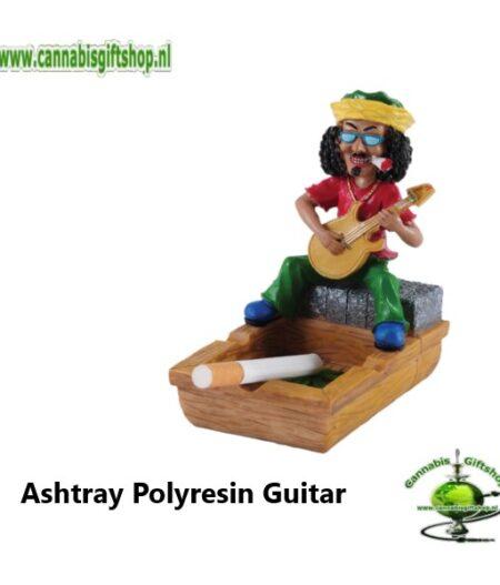 Ashtray Polyresin Guitar