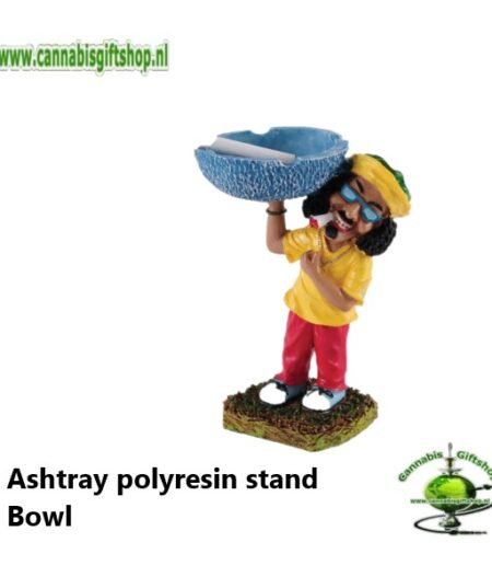 Ashtray polyresin stand Bowl