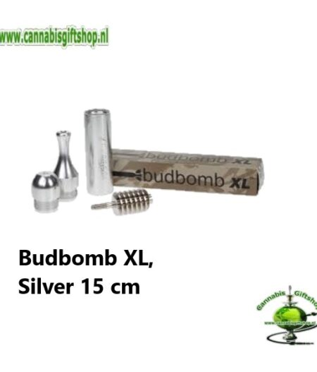 Budbomb XL, Silver 15 cm