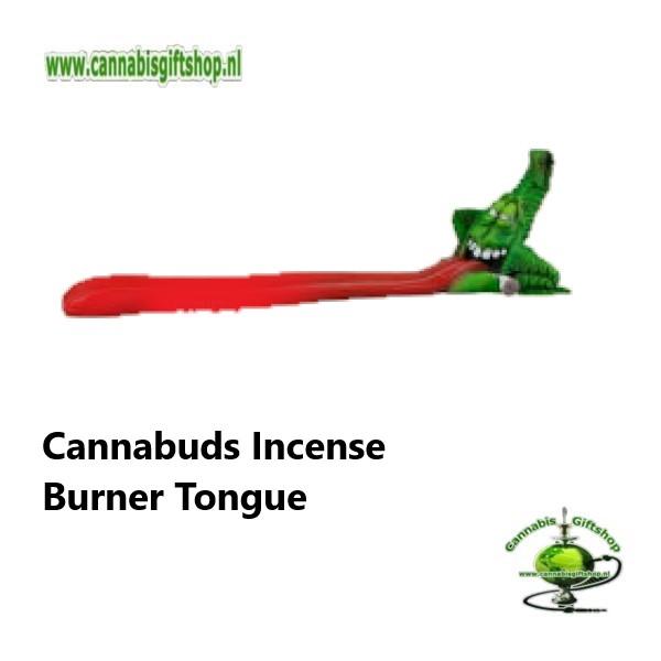 Cannabuds Incense Burner Tongue