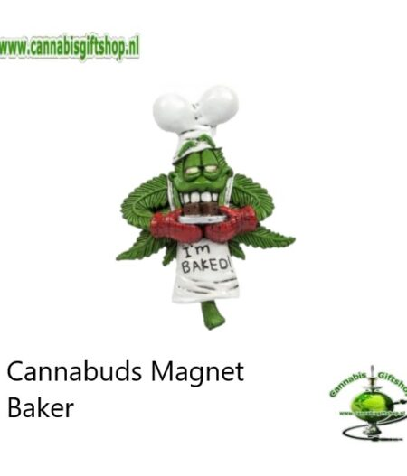 Cannabuds Magnet Baker