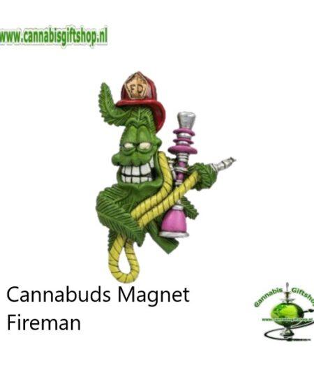 Cannabuds Magnet Fireman