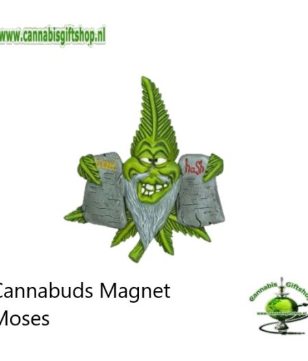 Cannabuds Magnet Moses