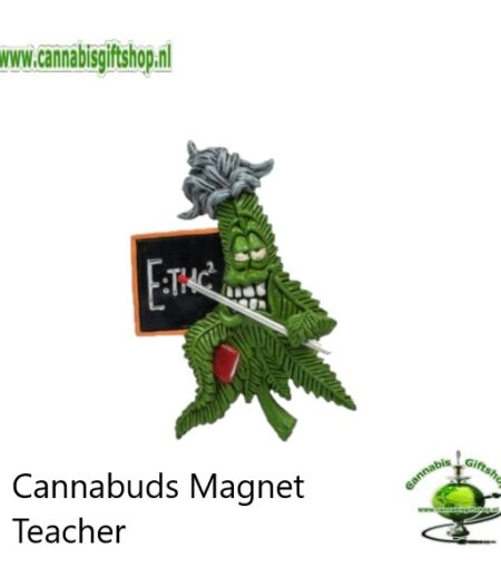 Cannabuds Magnet Teacher