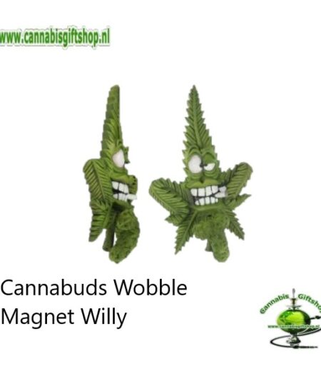 Cannabuds Wobble Magnet Willy
