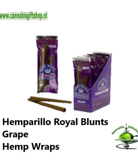 Hemparillo Royal Blunts Grape Hemp Wraps