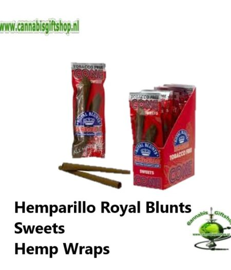 Hemparillo Royal Blunts Sweets Hemp Wraps