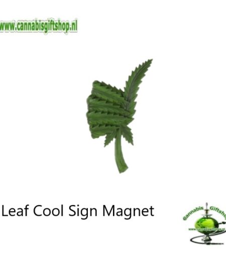 Leaf Cool Sign Magnet