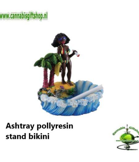 Ashtray pollyresin stand bikini