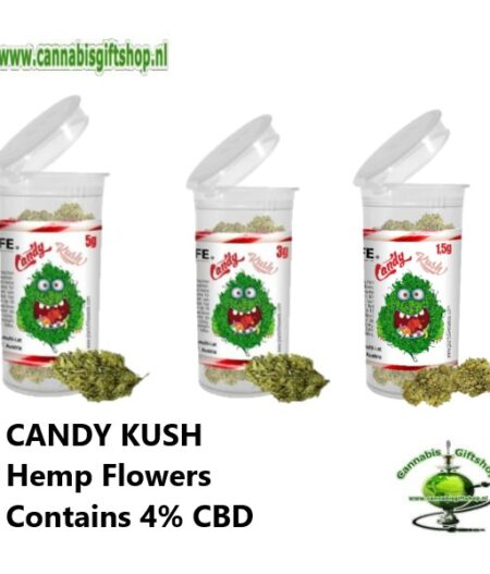 CANDY KUSH Hemp Flowers Contains 4% CBD