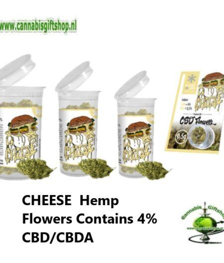 CHEESE Hemp Flowers Contains 4% CBD CBDA