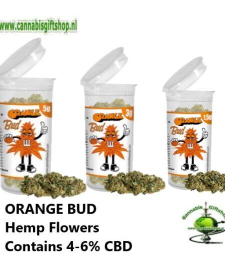 ORANGE BUD Hemp Flowers Contains 4-6% CBD