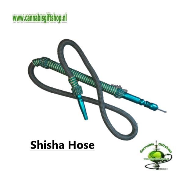 Shisha Hose Green / Gold