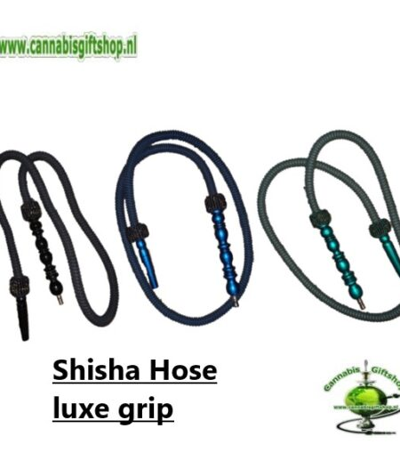 Shisha Hose luxe grip Black / Green / Blue Gold