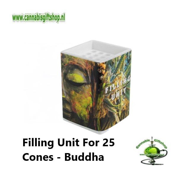 Filling Unit For 25 Cones - Buddha w- Plant