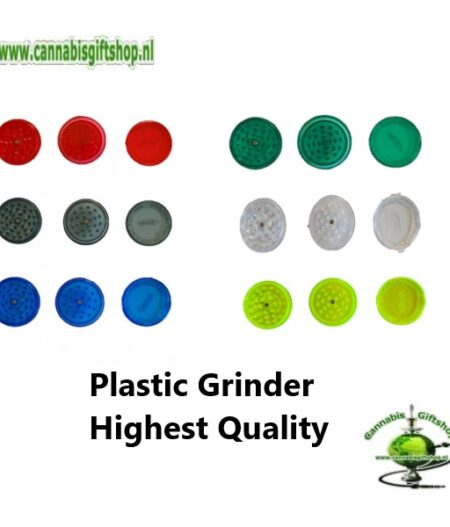 Plastic Grinder Highest Quality 3 Layers 60 mm