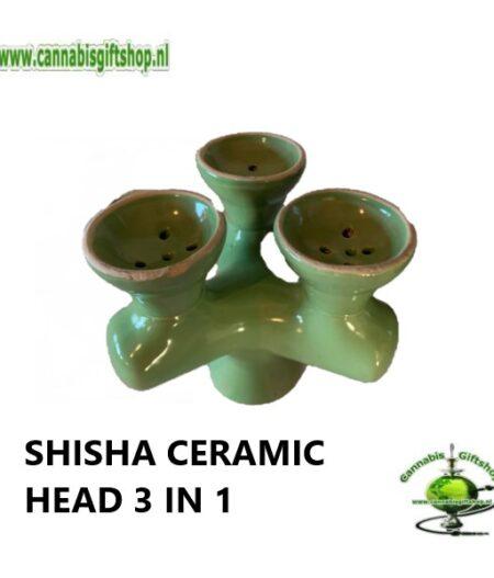 SHISHA CERAMIC HEAD 3 IN 1