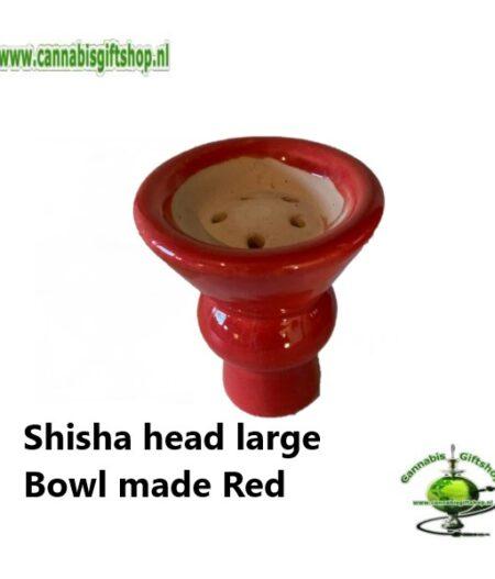 Shisha head large Bowl made Red