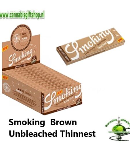 Smoking Brown Unbleached Thinnest