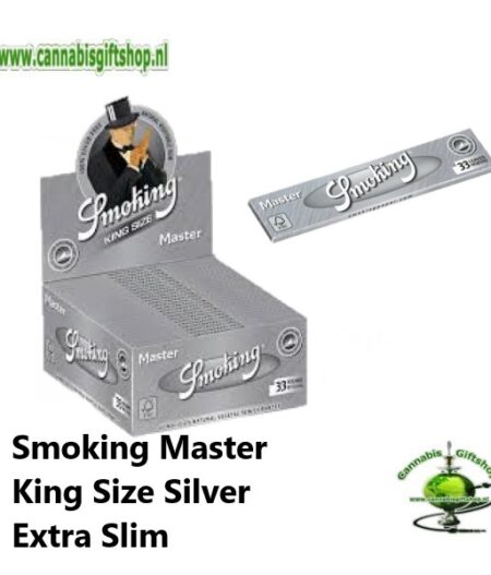 Smoking Master King Size Silver Extra Slim