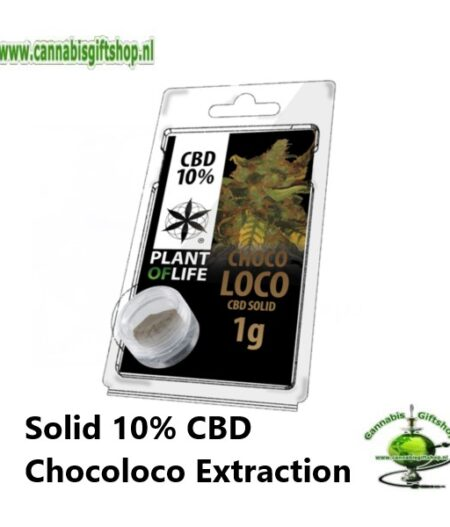 Solid 10% CBD Chocoloco Extraction