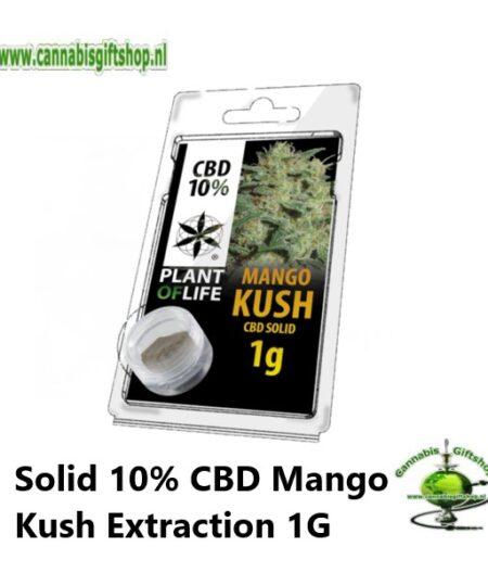 Solid 10% CBD Mango Kush Extraction 1G