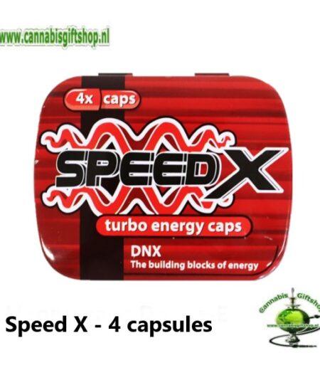 Speed X - 4 capsules