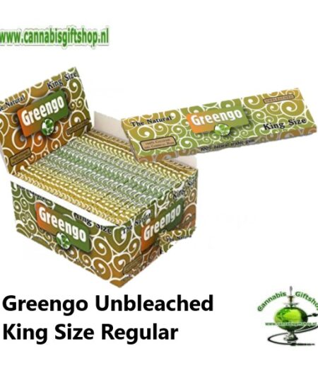 Greengo Unbleached King Size Regular