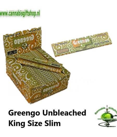 Greengo Unbleached King Size Slim