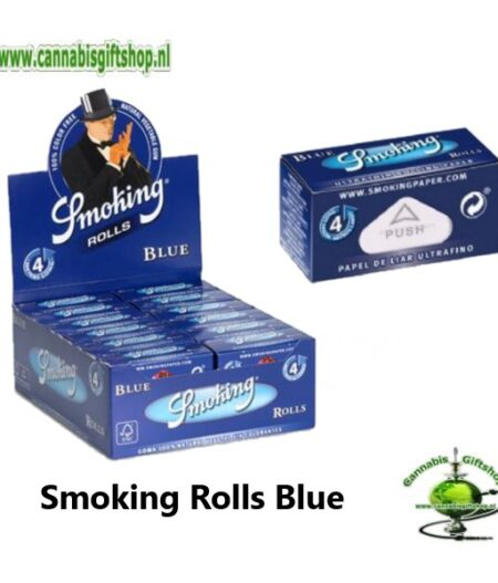 Smoking Rolls Blue