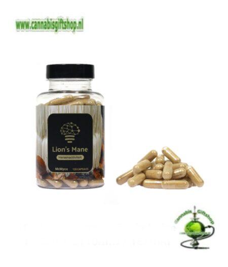 Lion's Mane extract capsules – 120 stuks