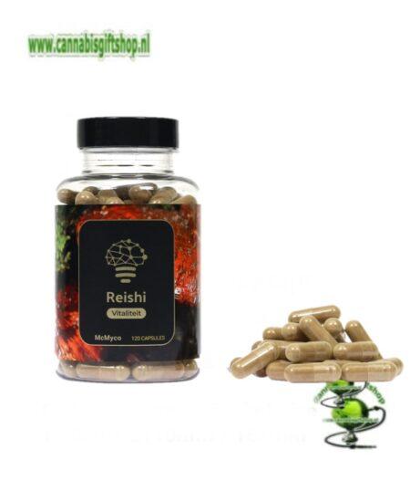 Reishi extract capsules – 120 stuks