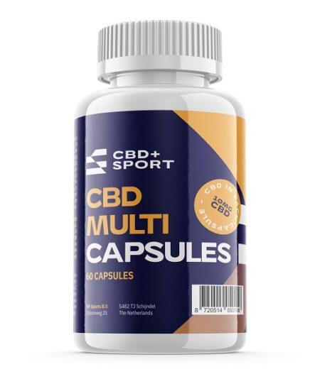 CBD en SPORT – CBD Multivitamine, 60 capsules