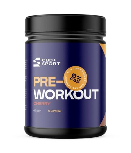 CBD + SPORT – Pre Work-Out Kers, 400g