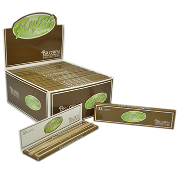 Flying Papers King Size Slim Brown