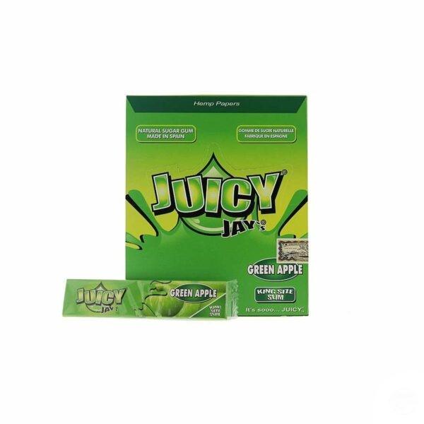 Juicy Jays Green Apple King Size Slim