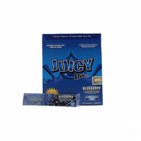 Juicy Jays Blueberry King Size Slim