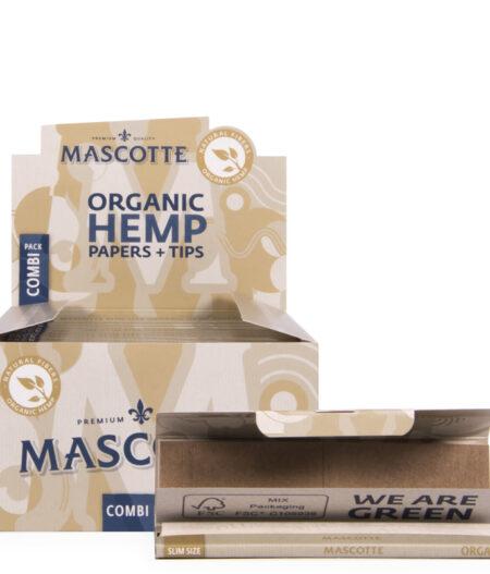 Mascotte Organic Hemp papers + Tips