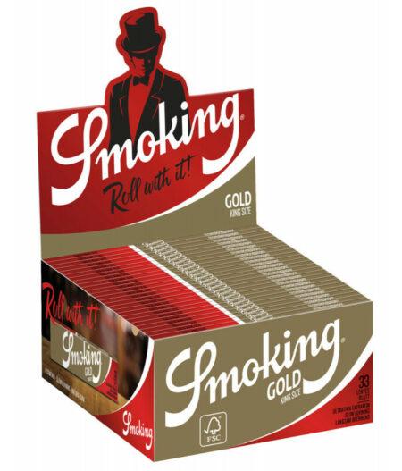 Smoking Gold K.S. Slim 50 pks33L
