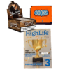 Smoking Brown King size slim Tip Books & Gratis Highlife